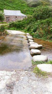 Stepping stones, Poldark beach