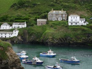 View of Port Isaac Harbour