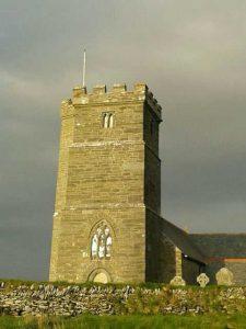 St Materianna's church Tintagel Cornwall
