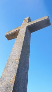 Modern St Piran's Cross