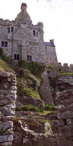 St Michael's Mount view of castle