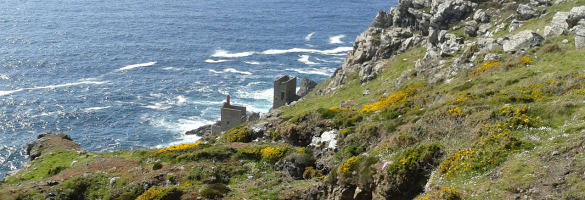 The Crown tin mines at Botallack, Cornwall