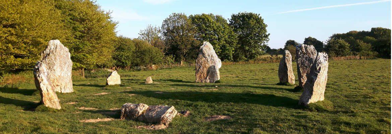 Stone Circle Cornwall
