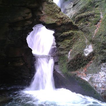 Waterfall on Tintagel tour and King Arthur tour