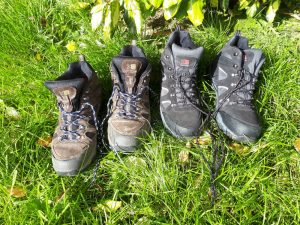 Pairs of Walking Boots