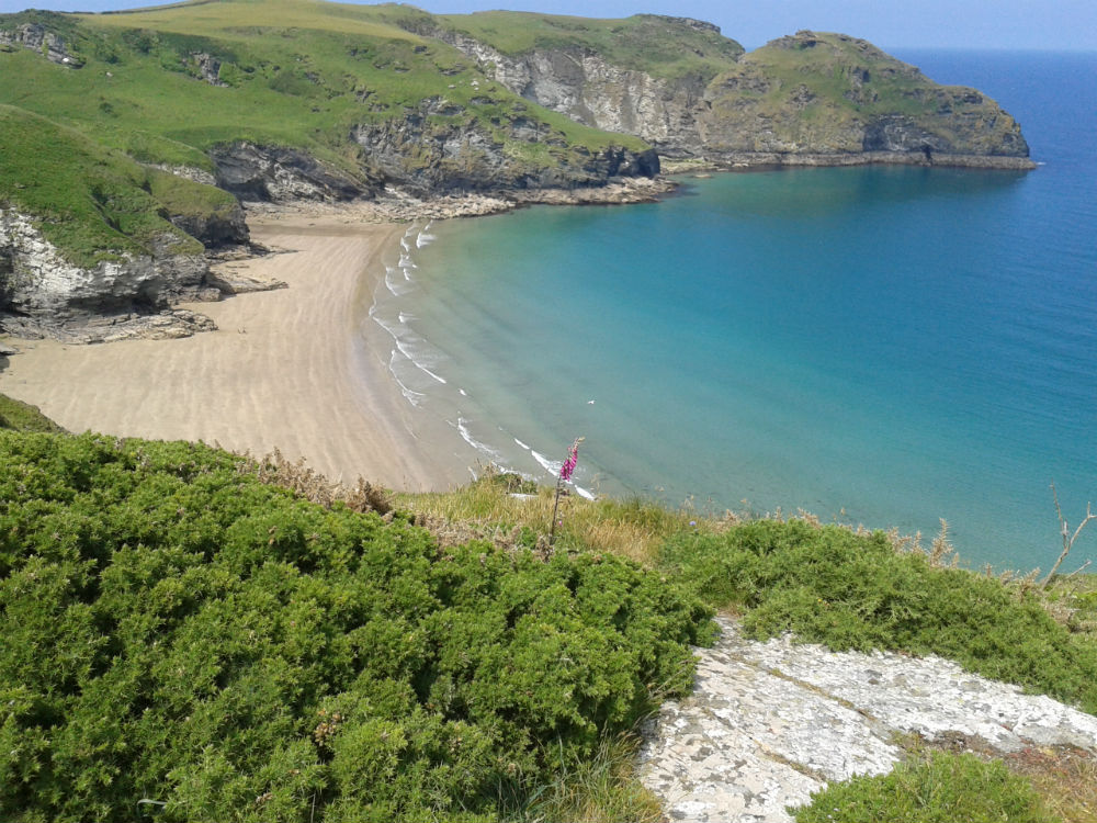 Bossiney Beach, North Cornwall