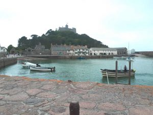 Harbour at St Michael's Mount