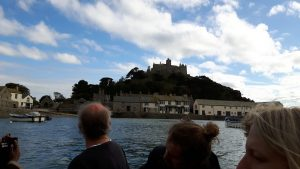 View from Ferry St Michael's Mount