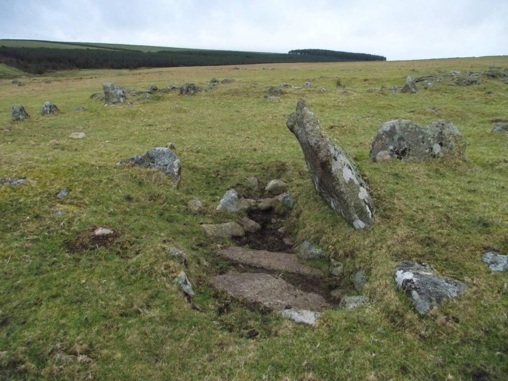 Bronze Age hut ruins, Rough Tor, Bodmin Moor