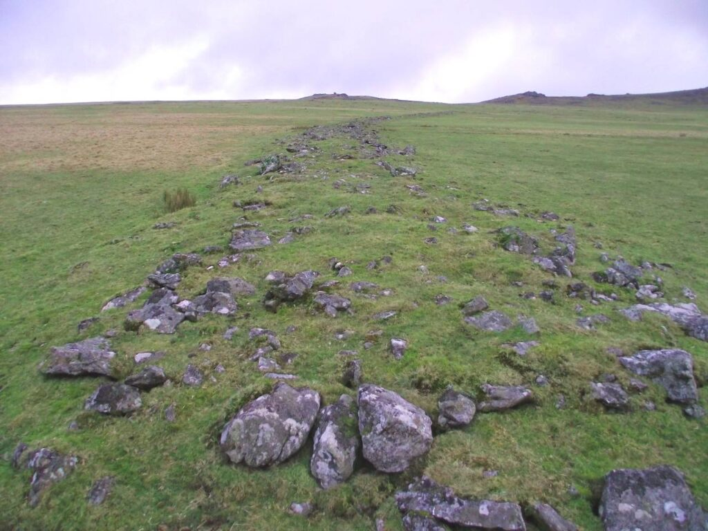 Rough Tor, Neolithic stone causeway, Bodmin Moor