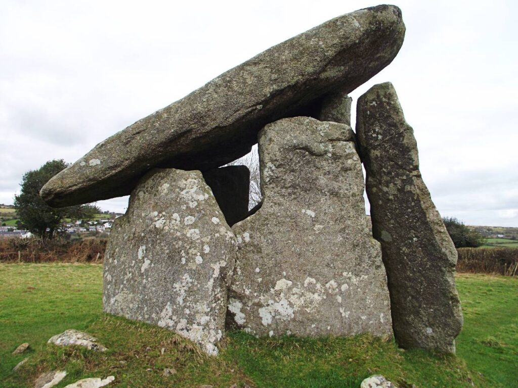 Trethevy Quoit, Neolithic Burial chamber, Bodmin Moor