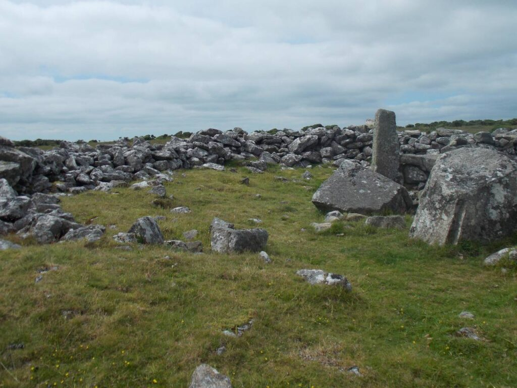 Cairn stone archaeology Bodmin Moor