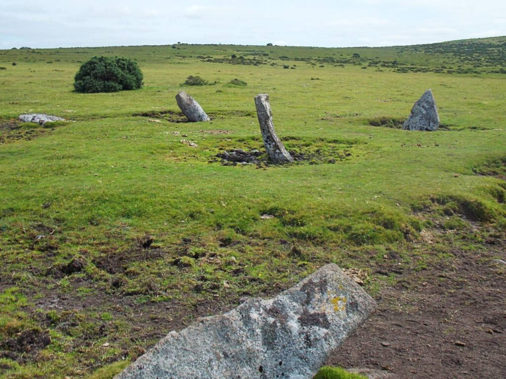 Nine Stones circle, Bodmin Moor