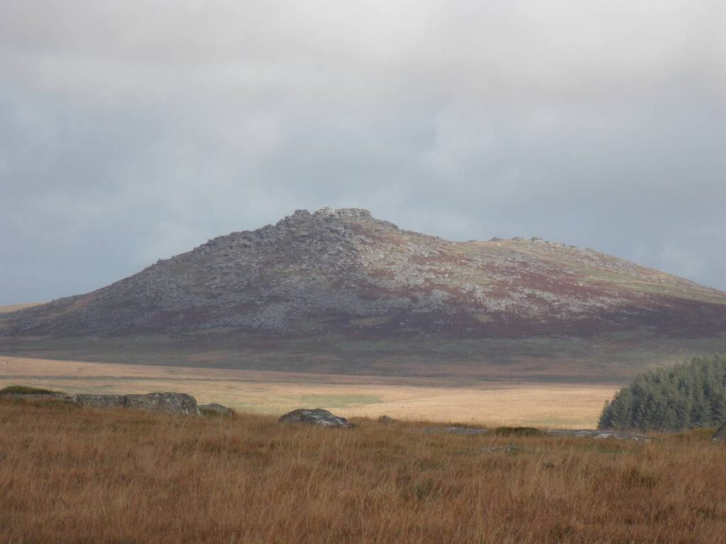 View of Bodmin Moor